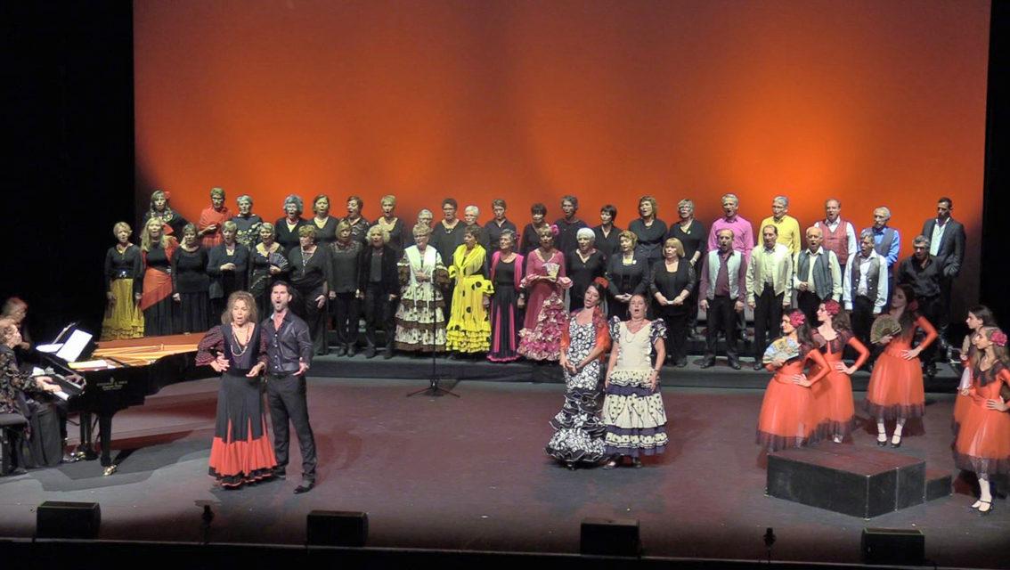 Magnifique concert lyrique de Vocissimo et Nemausa Danse à Paloma