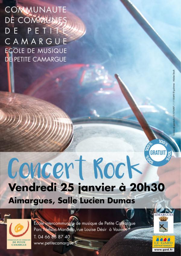 Concert Rock @ Salle Lucien Dumas