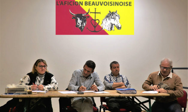 Beauvoisin : Assemblée générale du Club taurin l'Aficion