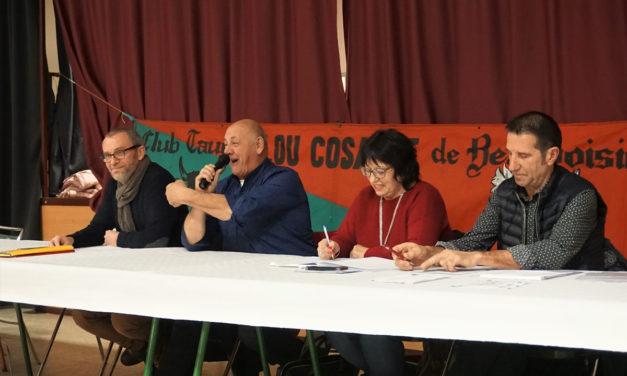Le Club Taurin Lou Cosaque en Assemblée à Beauvoisin