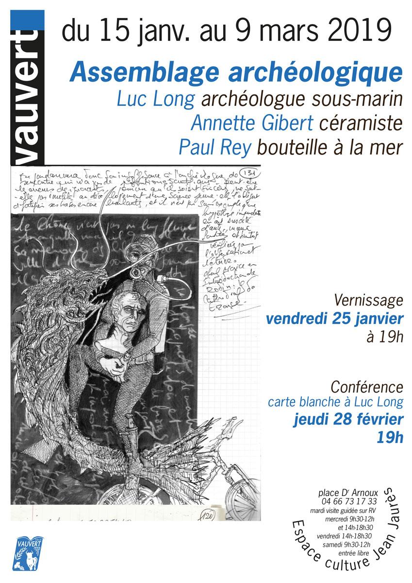 Exposition archéologique @ Espace culture Jean Jaurès