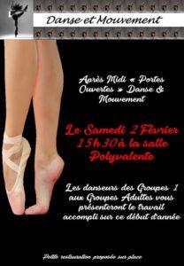 Beauvoisin : Danse et Mouvement @ Salle polyvalent