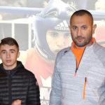 Lenny Voisin  vice champion de boxe amateur