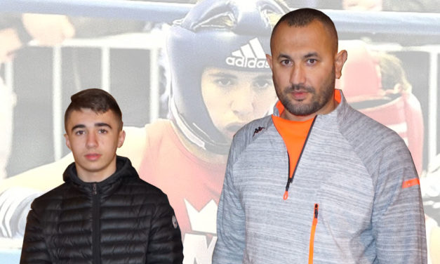 Lenny Voisin  vice champion de boxe amateur