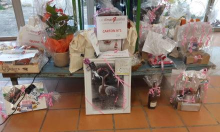 Les Aimargazelles ont organisé leur premier loto à Aimargues