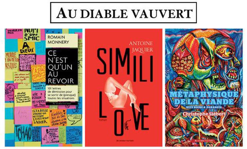 Au diable vauvert au Salon du livre de Paris du 15 au 18 mars – Stand M64