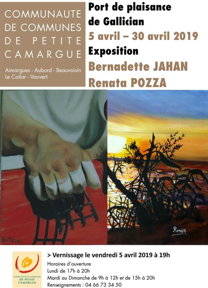 Expo Jahan & Pozza @ Port de Plaisance de Gallician