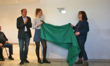 L'Espace Michel Falguières inauguré au Scamandre