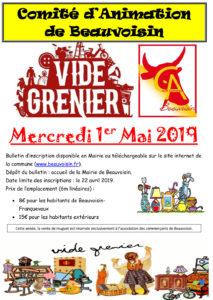 Beauvoisin : Vide Grenier du 1er Mai @ Beauvoisin