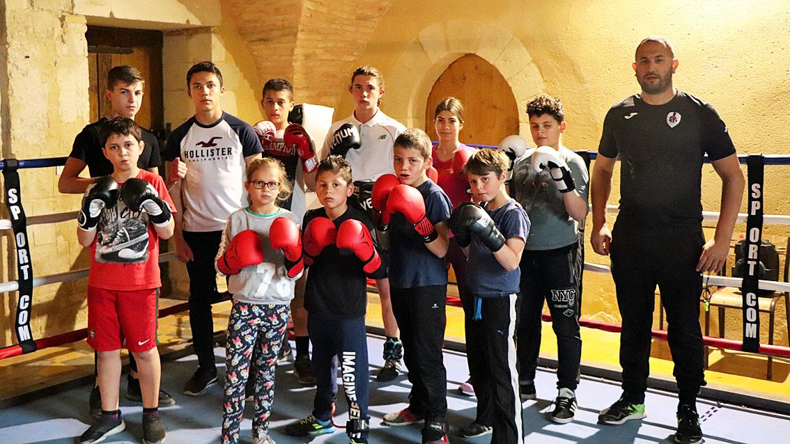 Beauvoisin: le Boxing Club 1980 veut mettre en avant la jeunesse
