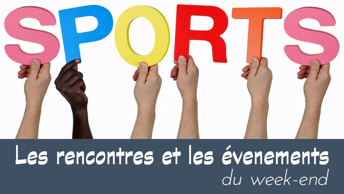 Agenda sportif du 13 au 14 avril 2019