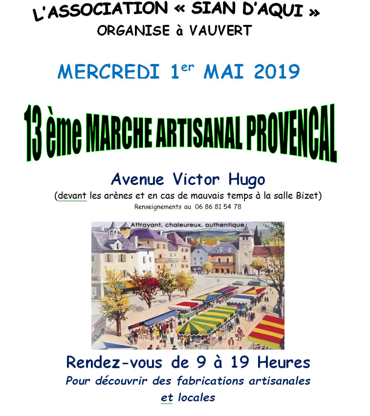 Marché du 1er Mai @ Avenue Victor Hugo