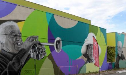 École de musique : Trois immenses artistes immortalisés par Pyrate