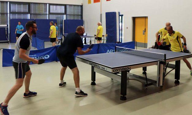 Championnat de tennis de table : Sous le signe de la convivialité
