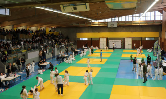 Record d'affluence pour le 30ème tournoi de judo de la Ville de Vauvert