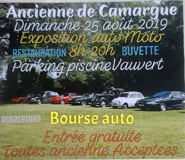 Exposition Auto Moto @ Parking Piscine