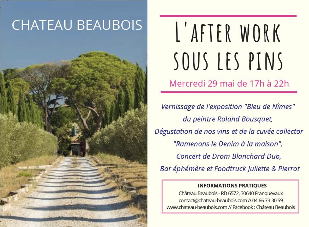 After Work sous les pins @ Château Beaubois