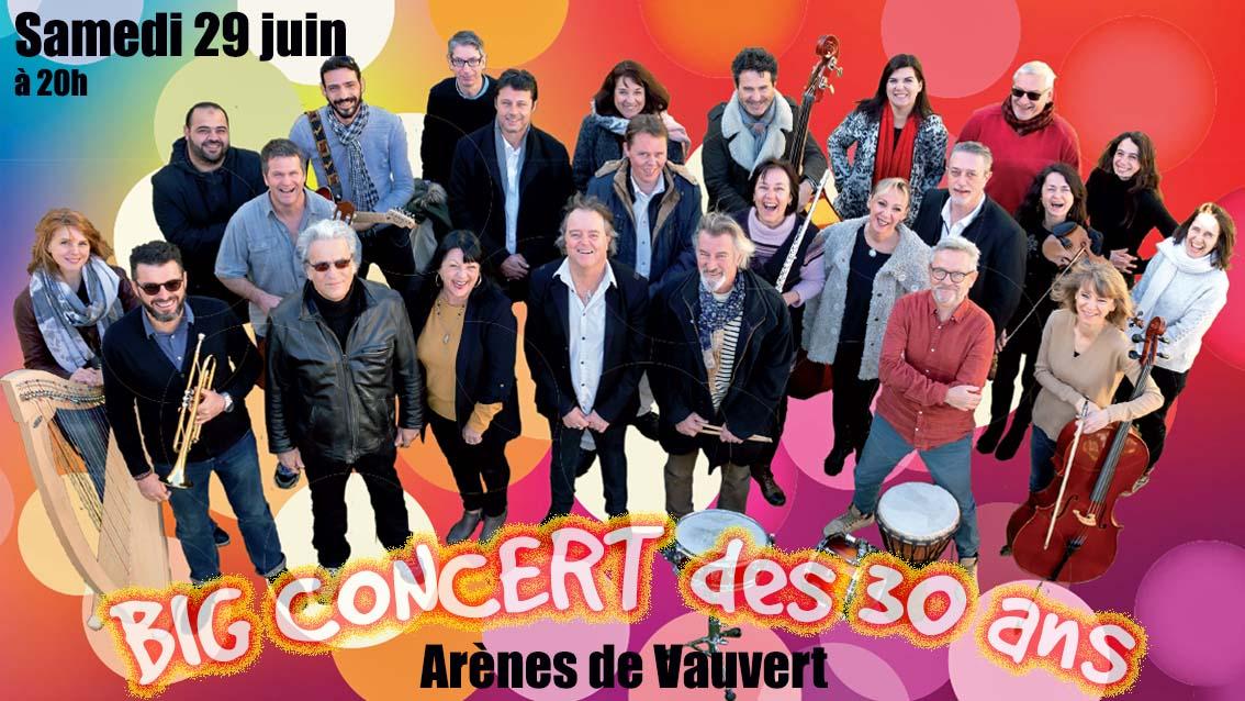 BIG CONCERT des 30 ans de l'École de musique de Petite Camargue