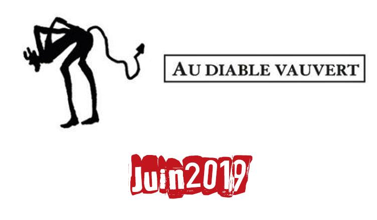 Au Diable Vauvert : En librairie en Juin