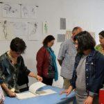 La gravure et le dessin de nu s'exposent au centre culturel
