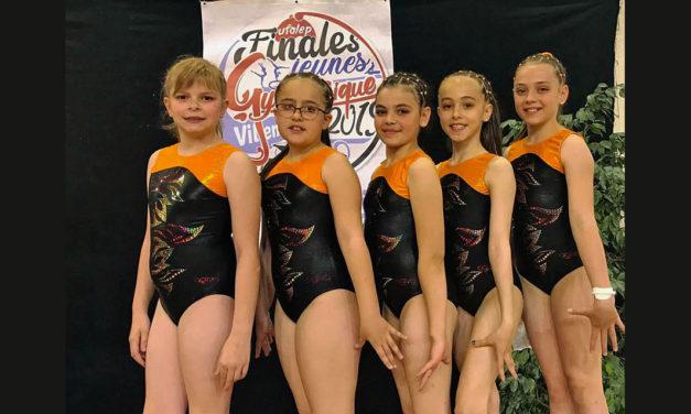 La belle performance des jeunes gymnastes de Vauvert Energym club
