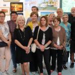 L'association Terre de lumière a présenté ses œuvres au port de Gallician