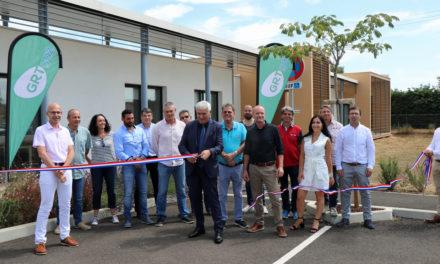 GRTgaz inaugure son nouveau site d'exploitation à Aimargues