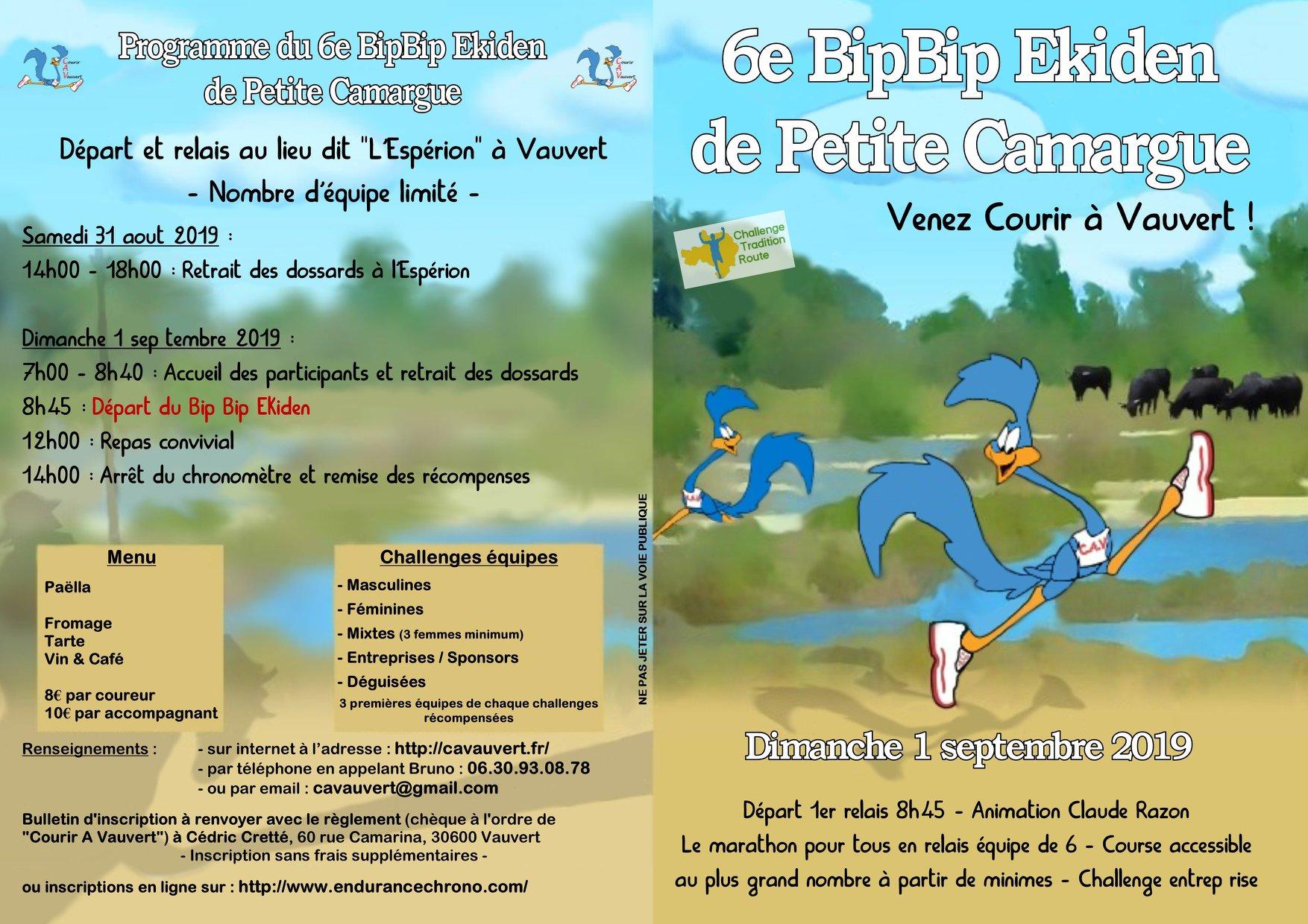 Bip bip Ekiden de Petite Camargue