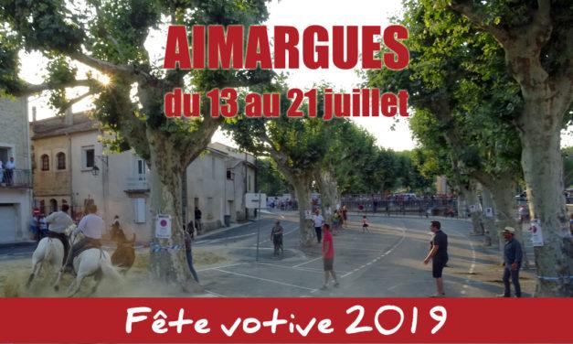C'est la fête à Aimargues du 13 au 21 juillet