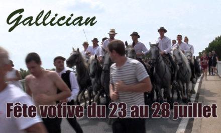 C'est la fête à Gallician du 23 au 28 juillet