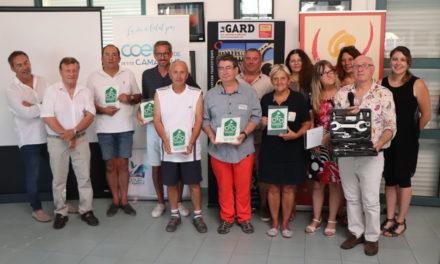 """Remise des plaques """"Accueil Vélo"""" aux premiers labellisés du territoire"""