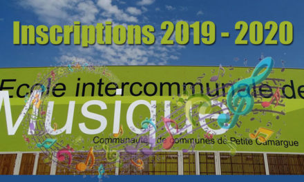 Inscriptions à l'école de musique de Petite Camargue