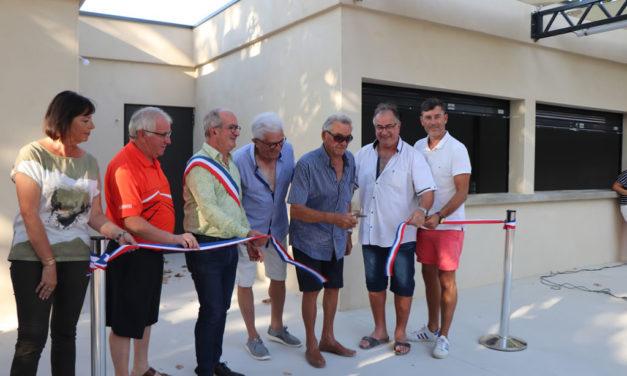 Une nouvelle maison des boulistes à Vauvert