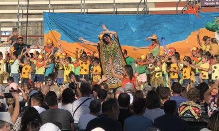 Le roi Lion joué par le centre de loisirs de Vauvert
