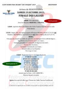 Beauvoisin : Finale des Ligues @ Beauvoisin
