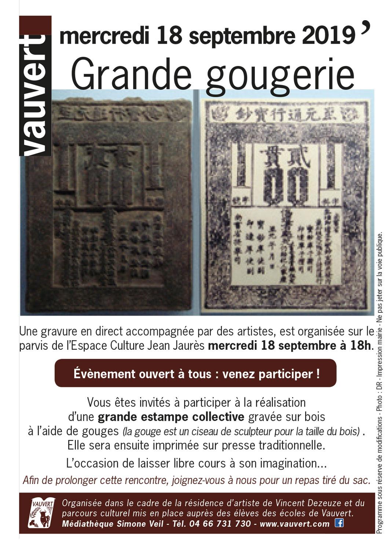 Atelier Gravure @ Espace Culture Jean Jaures