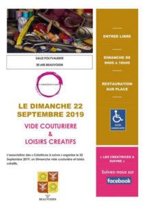 Vide Couturière et Loisirs Créatifs @ Beauvoisin