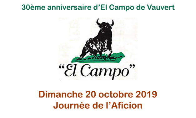 El Campo,  Grande journée de l'aficion dimanche 20 octobre
