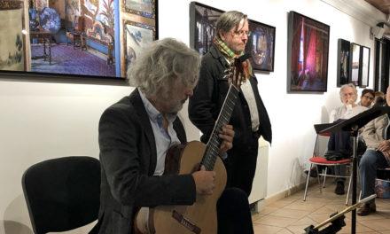 Belle soirée de lecture musicale autour de Victor Hugo