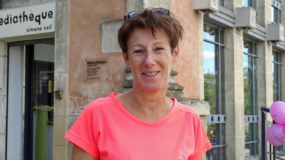 Monique Dany, nouvelle présidente de l'Élan Vauverdois d'Athlétisme