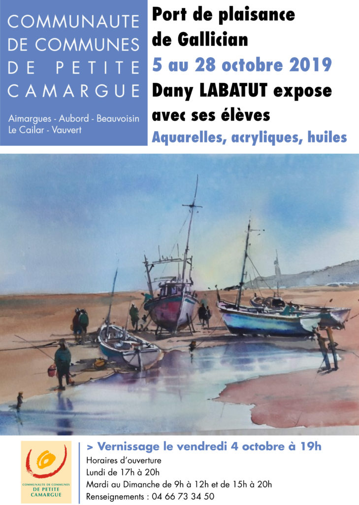 Expo Dany Labatut @ Port de Gallician
