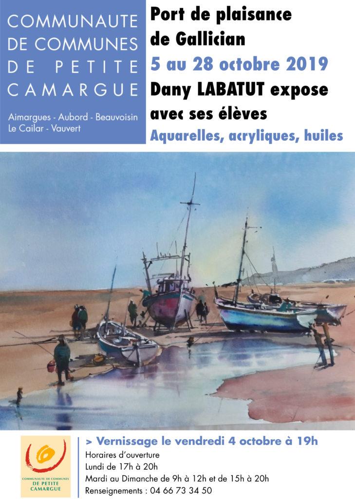 Expo Dany Labatut @ Port de Gallician