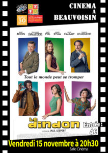 "Cinéma à Beauvoisin  ""Le Dindon"" @ Beauvoisin"