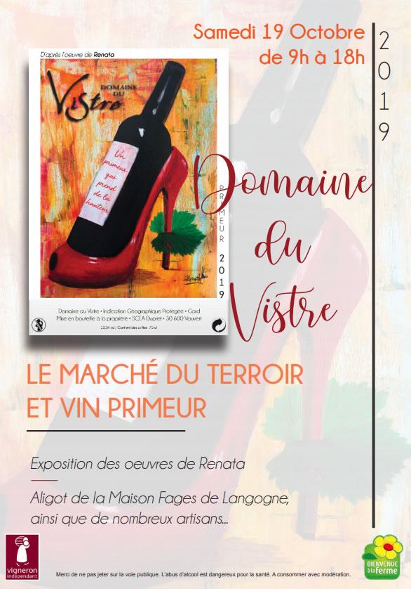 Marché du terroir @ Domaine du Vistre