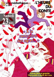 """Médiathèque de Beauvoisin  l'Heure du Conte """"A la rencontre des Ogres"""" @ Beauvoisin"""