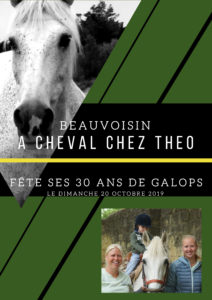 Beauvoisin : A Cheval chez Théo fête ses 30 ans. @ Beauvoisin
