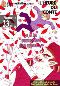 """Heure du Conte """"A la rencontre des Ogres""""     Beauvoisin @ Beauvoisin"""