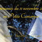 Les cérémonies du 11 novembre en Petite Camargue