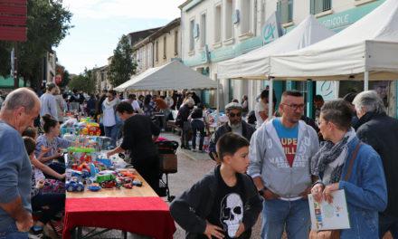 Joli succès pour la fête du marché à Vauvert