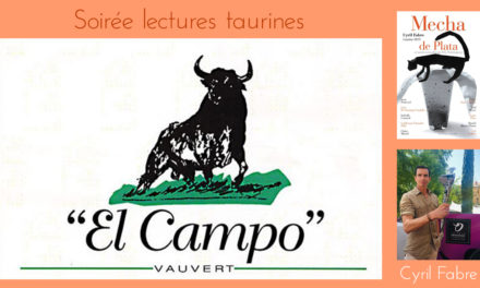 El Campo propose une Soirée lectures taurines